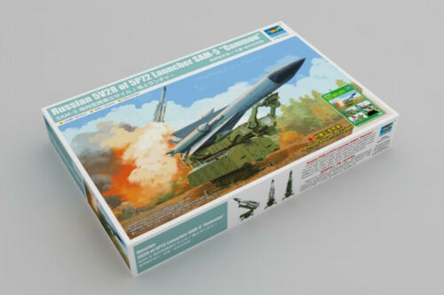 Trumpeter 09550 1/35 Russian 5V28 of 5P72 Launcher SAM-5
