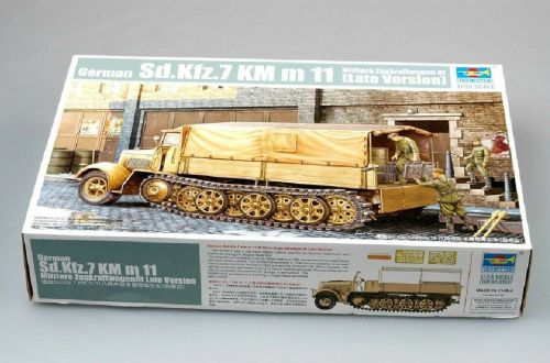 Trumpeter 01507 1/35 Sd.Kfz.7 KM m11 Late Version
