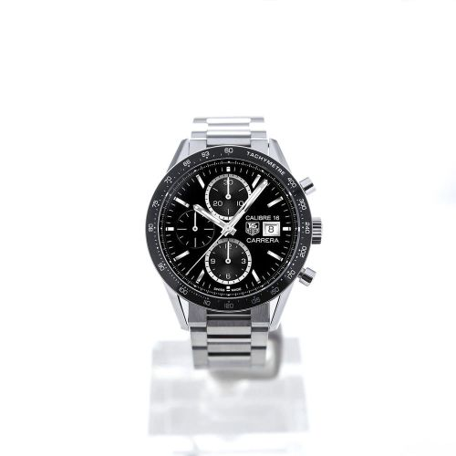 TAG Heuer Carrera 41 Chronograph Black Dial